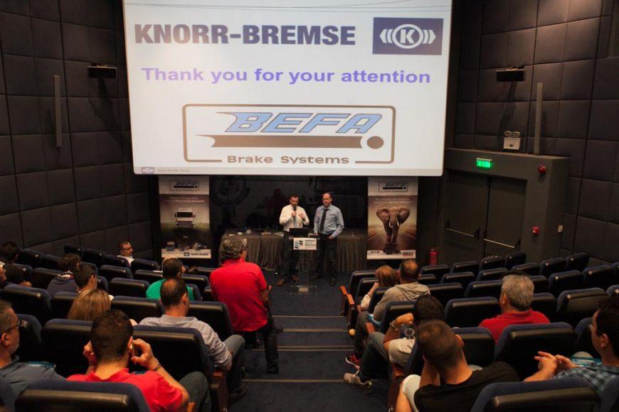 Ιούνιος 2016- Παρουσίαση και σεμινάριο KNORR-BREMSE και FRAS-LE